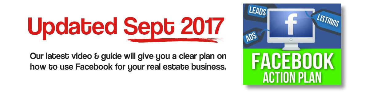 Facebook real estate landing page