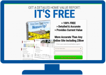 Home Value Landing Pages