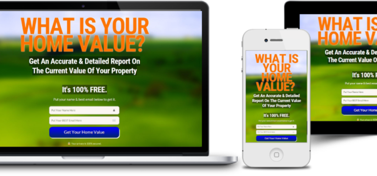 the home value landing page why do you need it postaprop