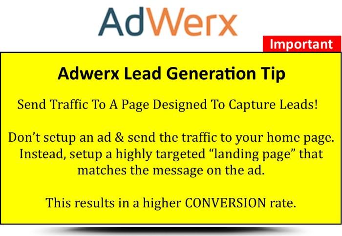 Adwerx-Important