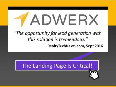 Adwerx And Landing Pages: A Critical Step To Success With Your Ad