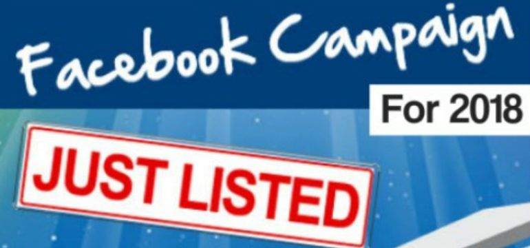 Just Listed & Just Sold Facebook Ad Example